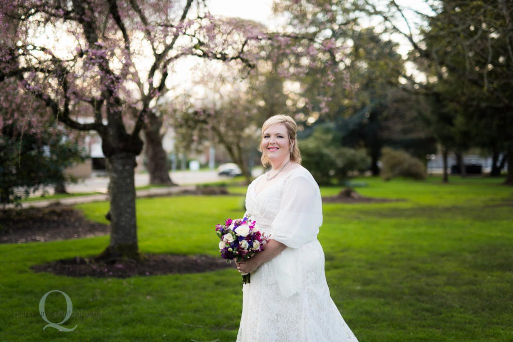 Bride At The Park
