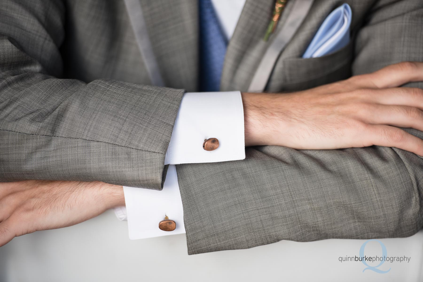 groom cufflinks wedding Perryhill Farm