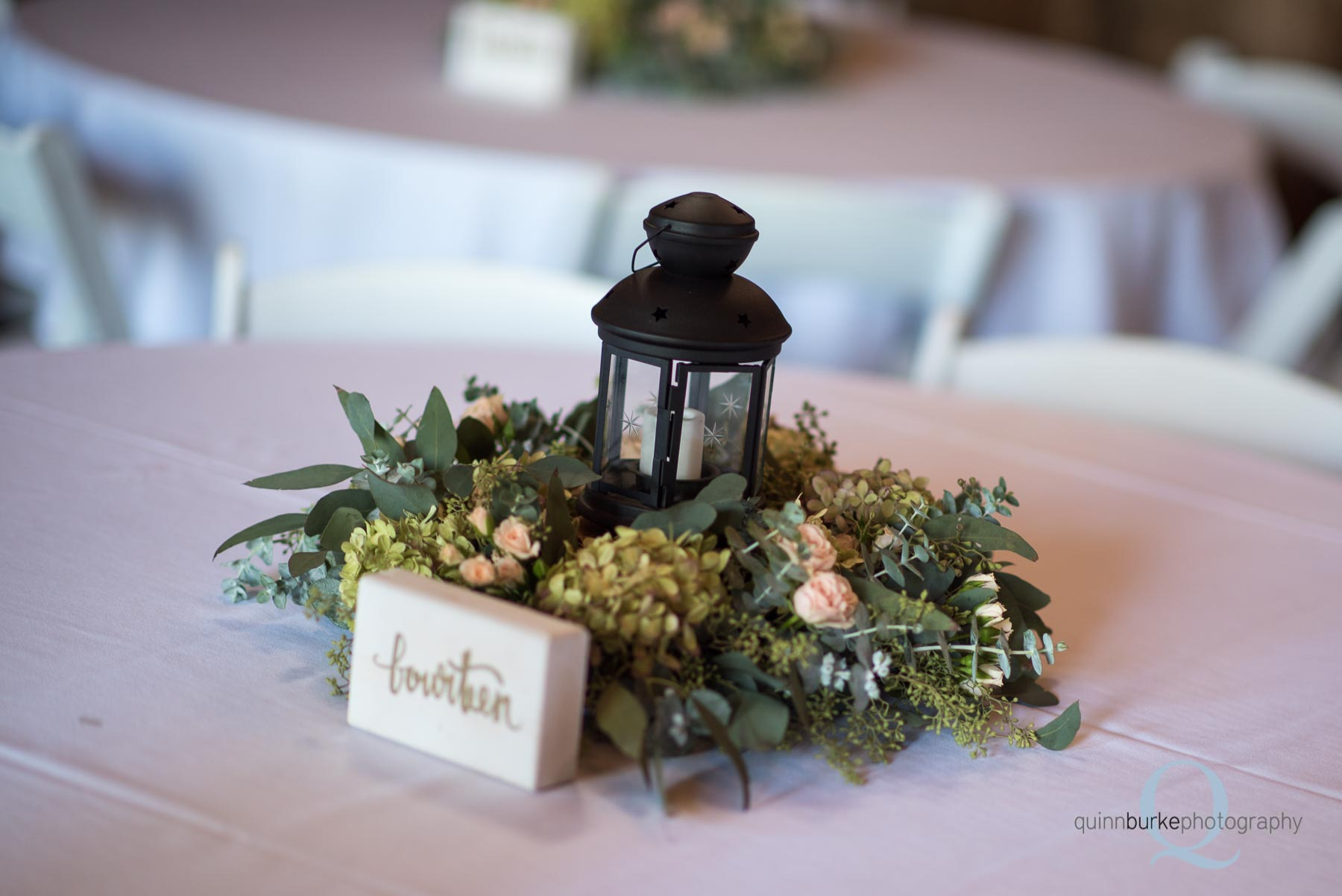 Perryhill Farm wedding table setting