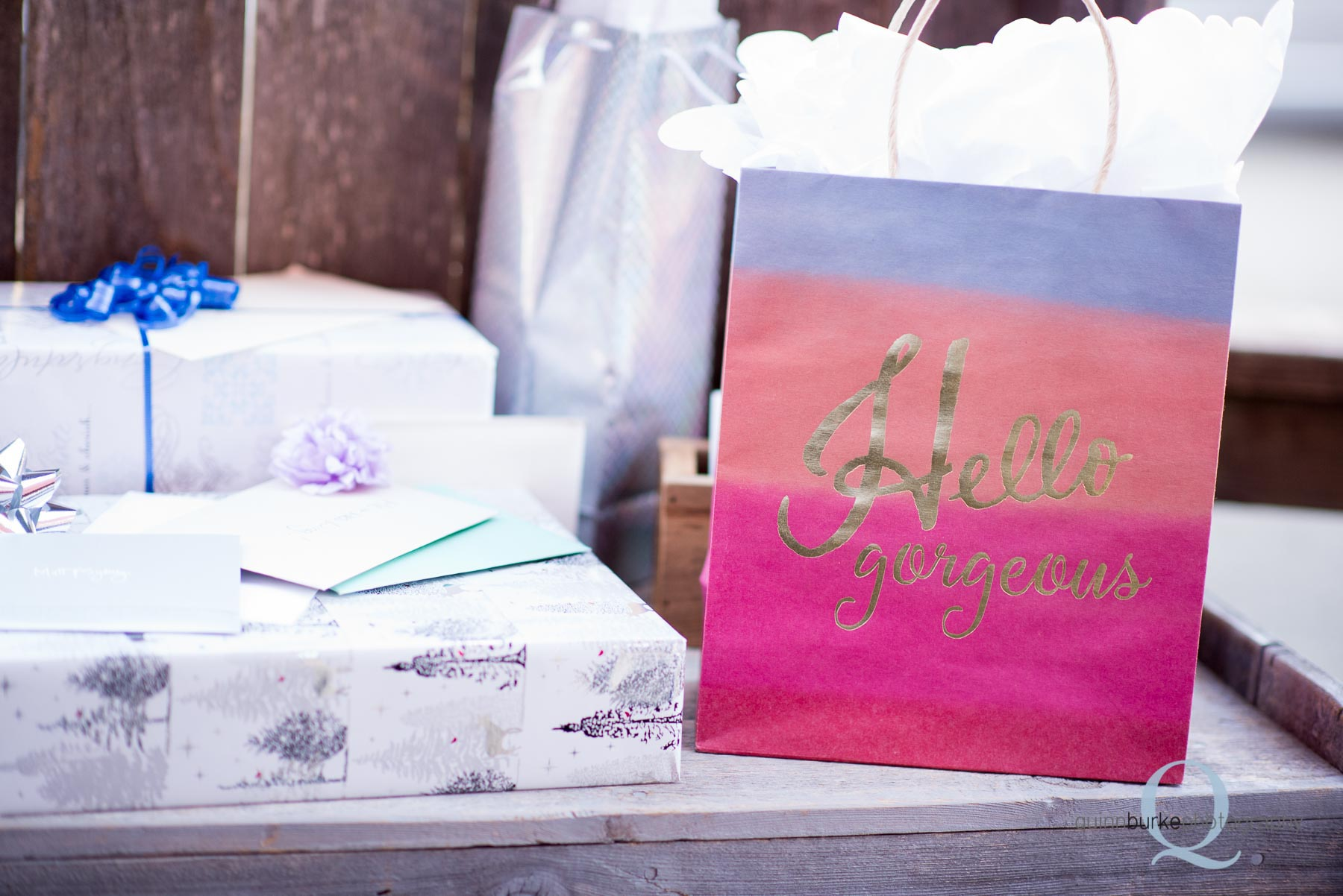 wedding gifts at Perryhill Farm
