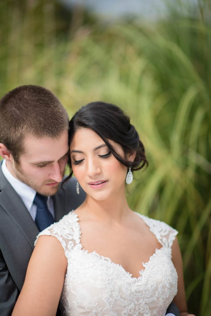 bride groom portrait green villa barn wedding salem oregon