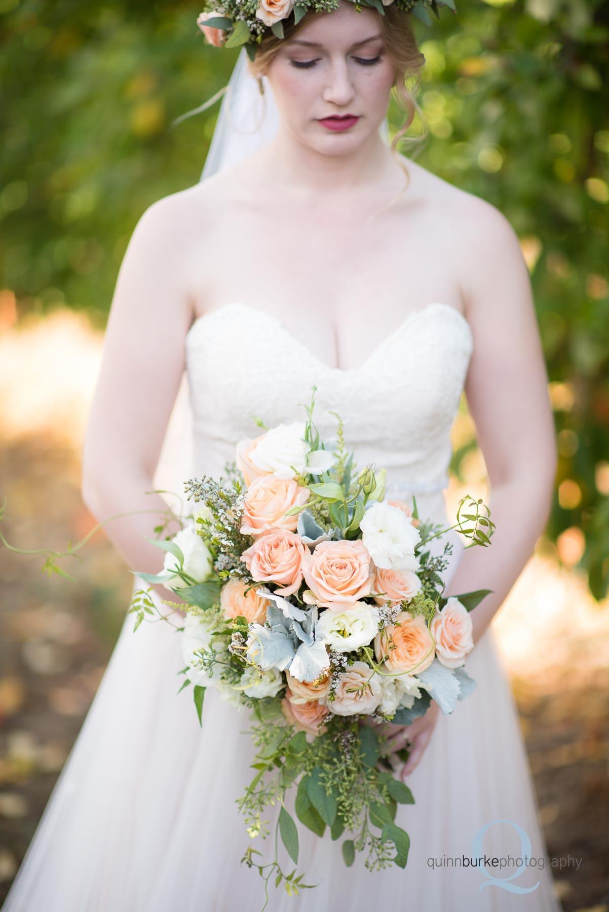 wedding bridal flower bouquet Perryhill Farm