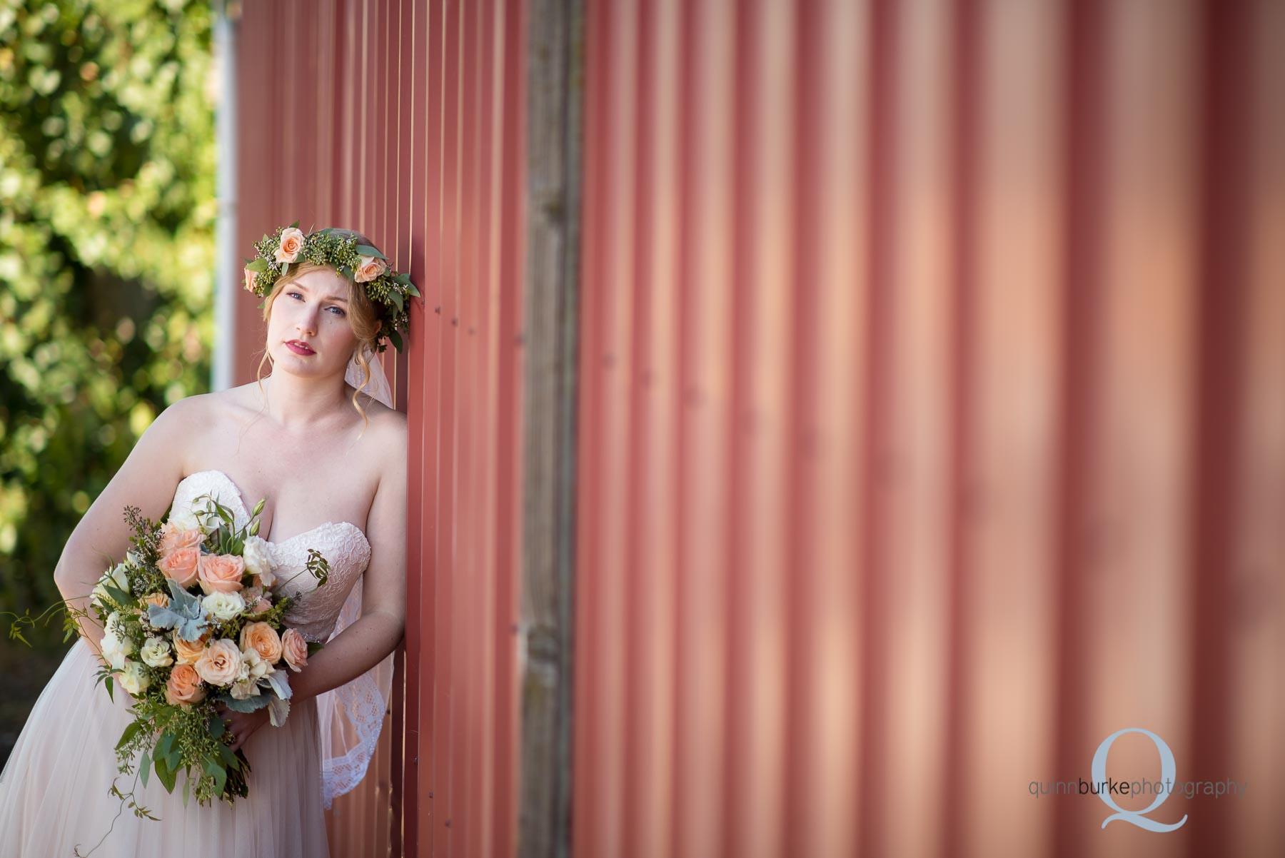 barn wedding Perryhill Farm oregon
