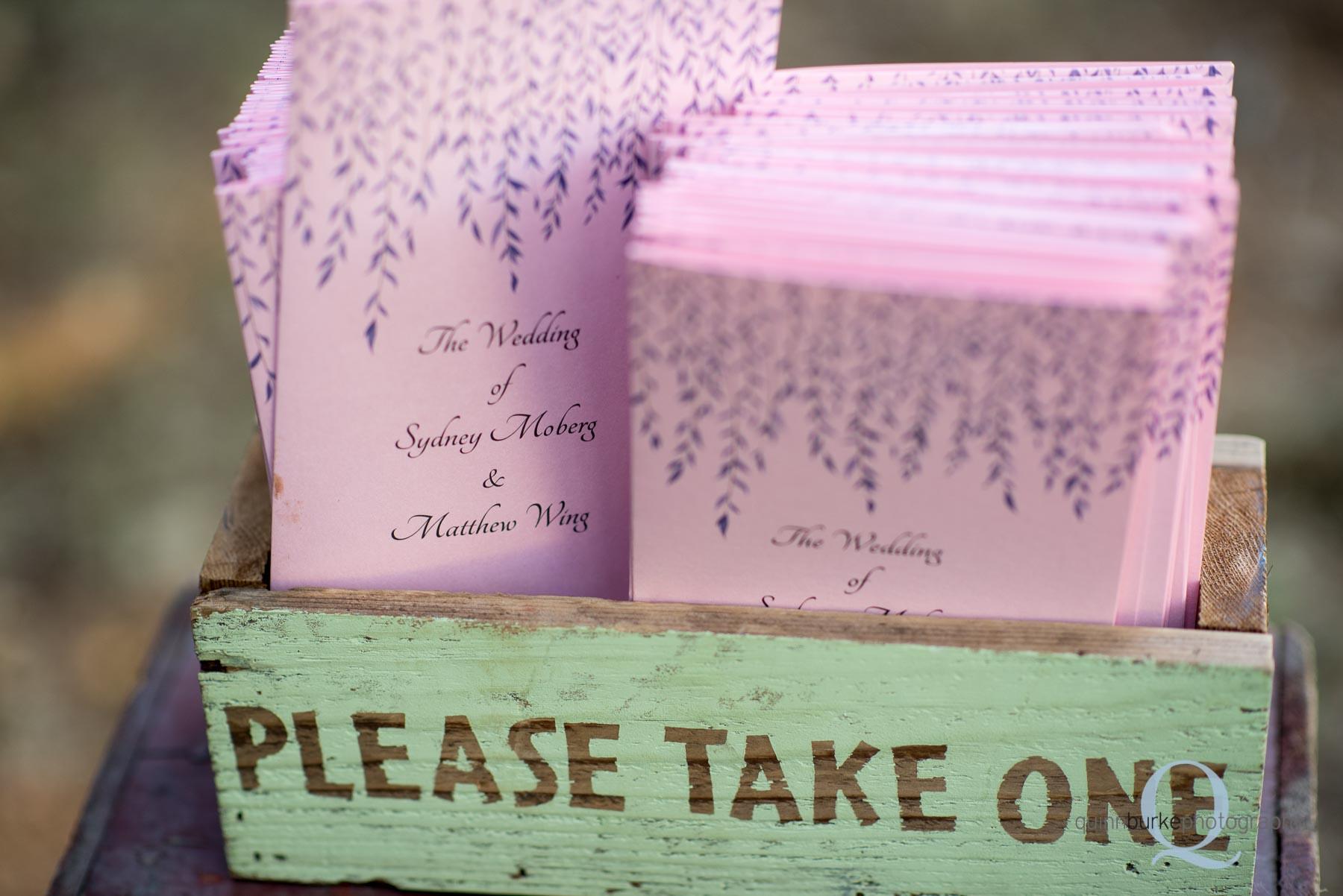 Perryhill Farm wedding invites oregon