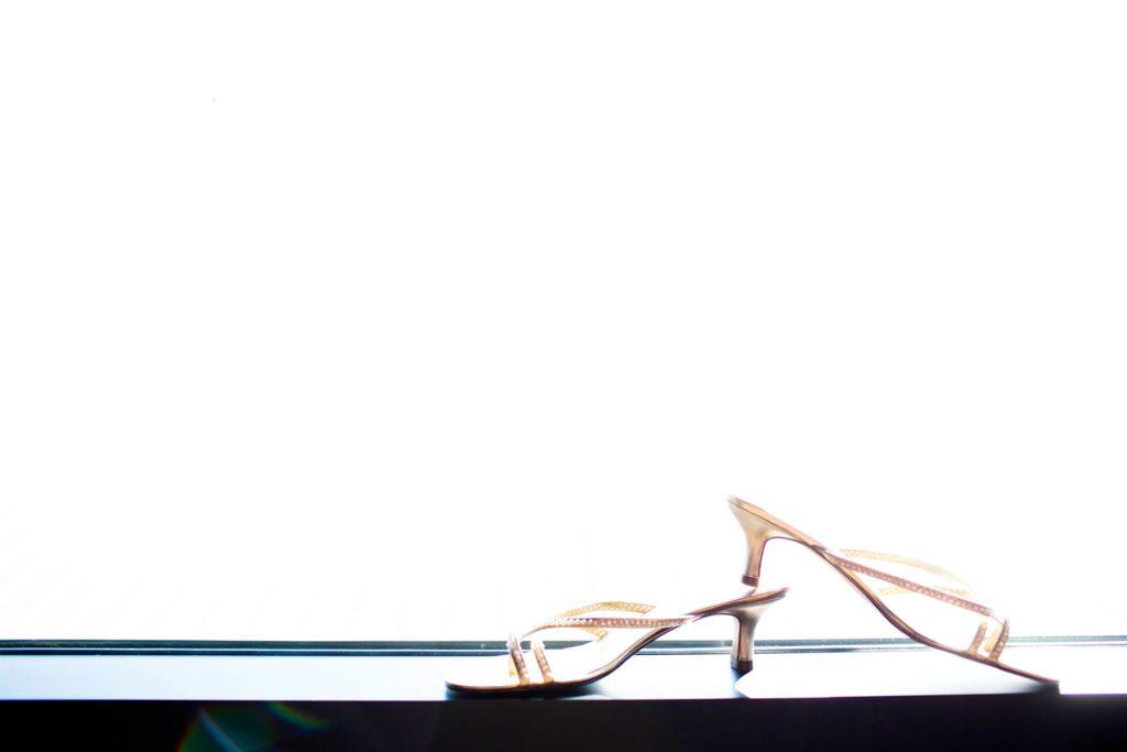 bride wedding shoes backlit white vue corvallis oregon
