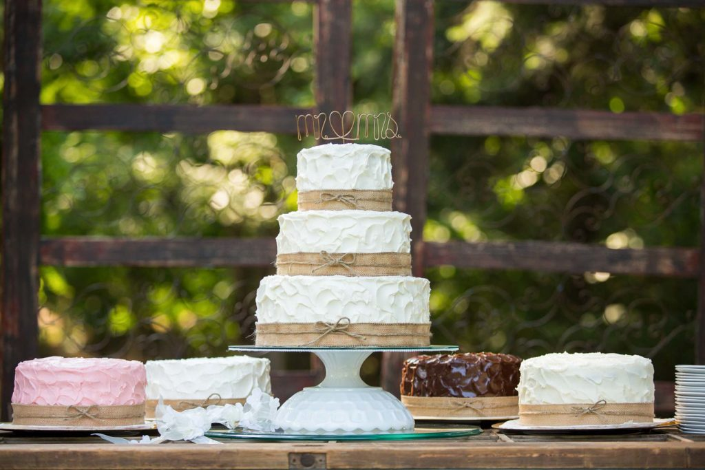 gourmet wedding cake reception salem oregon